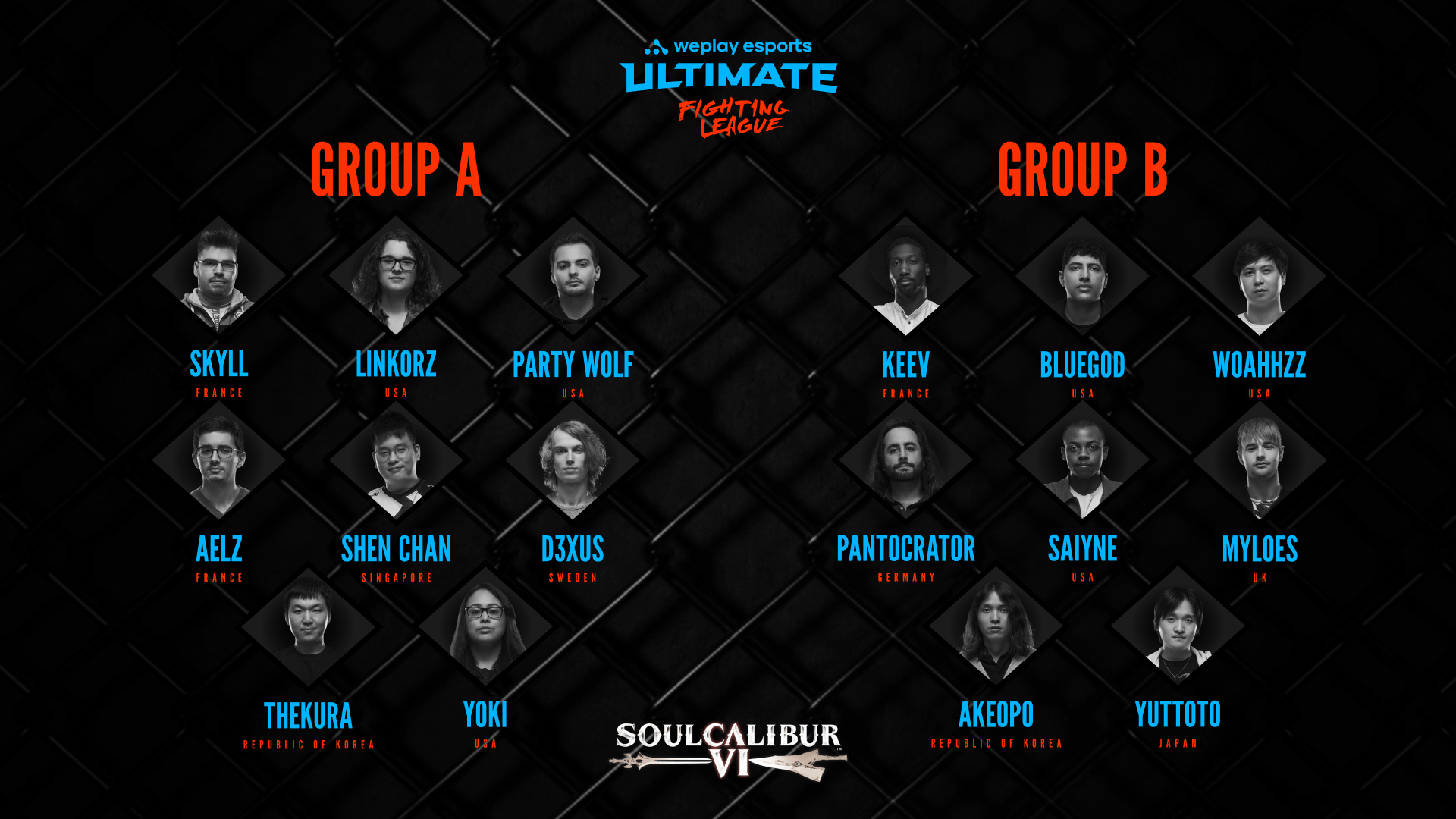WUFL SC6: Groups and Schedule Revealed