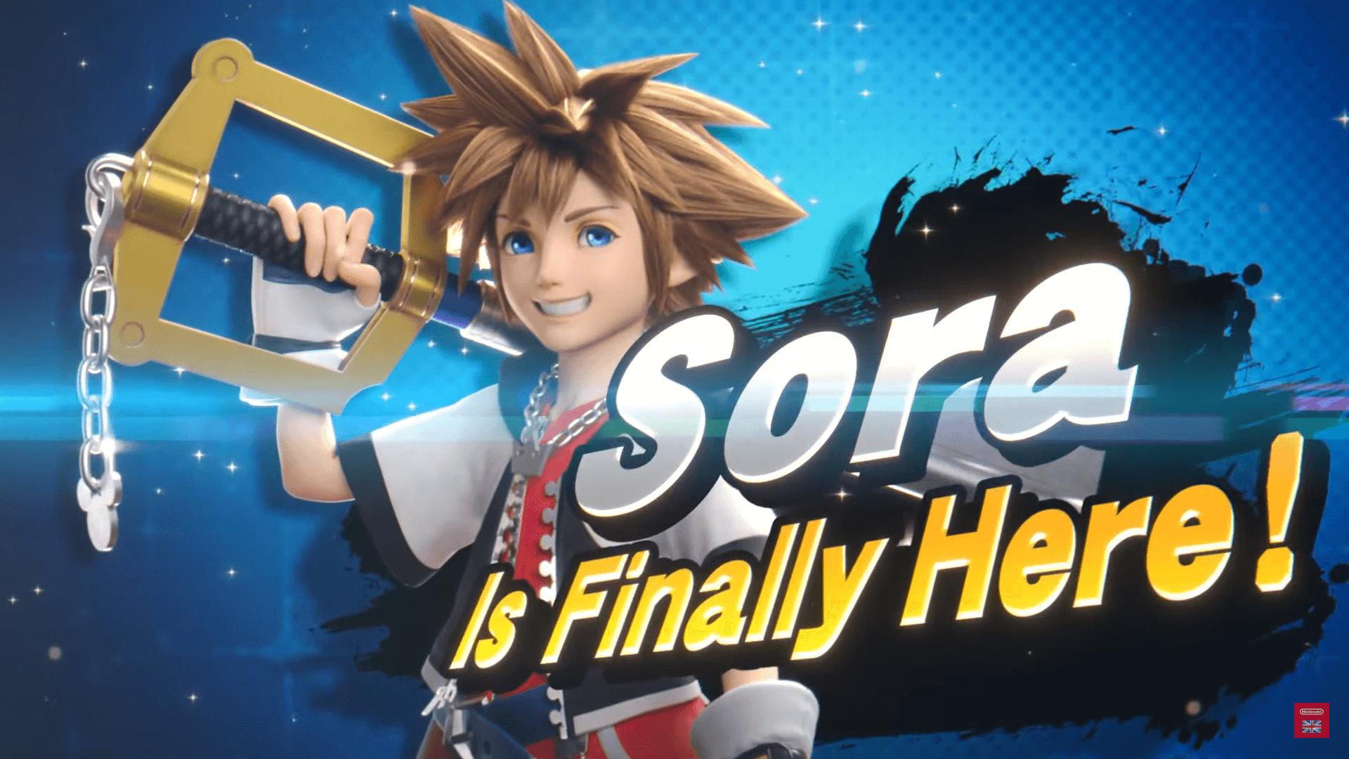 Kingdom Heart's Sora joins the Super Smash Bros Ultimate Ensemble