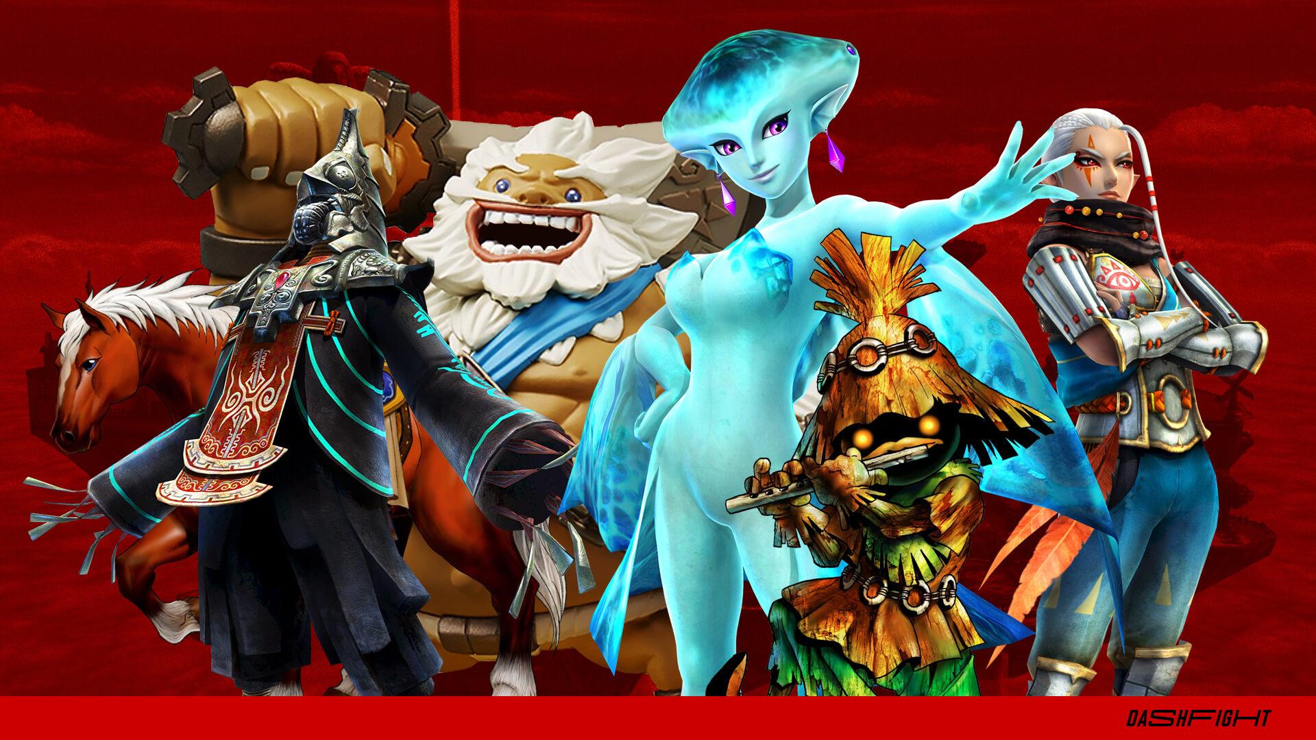 History of Zelda heroes in Super Smash Bros games