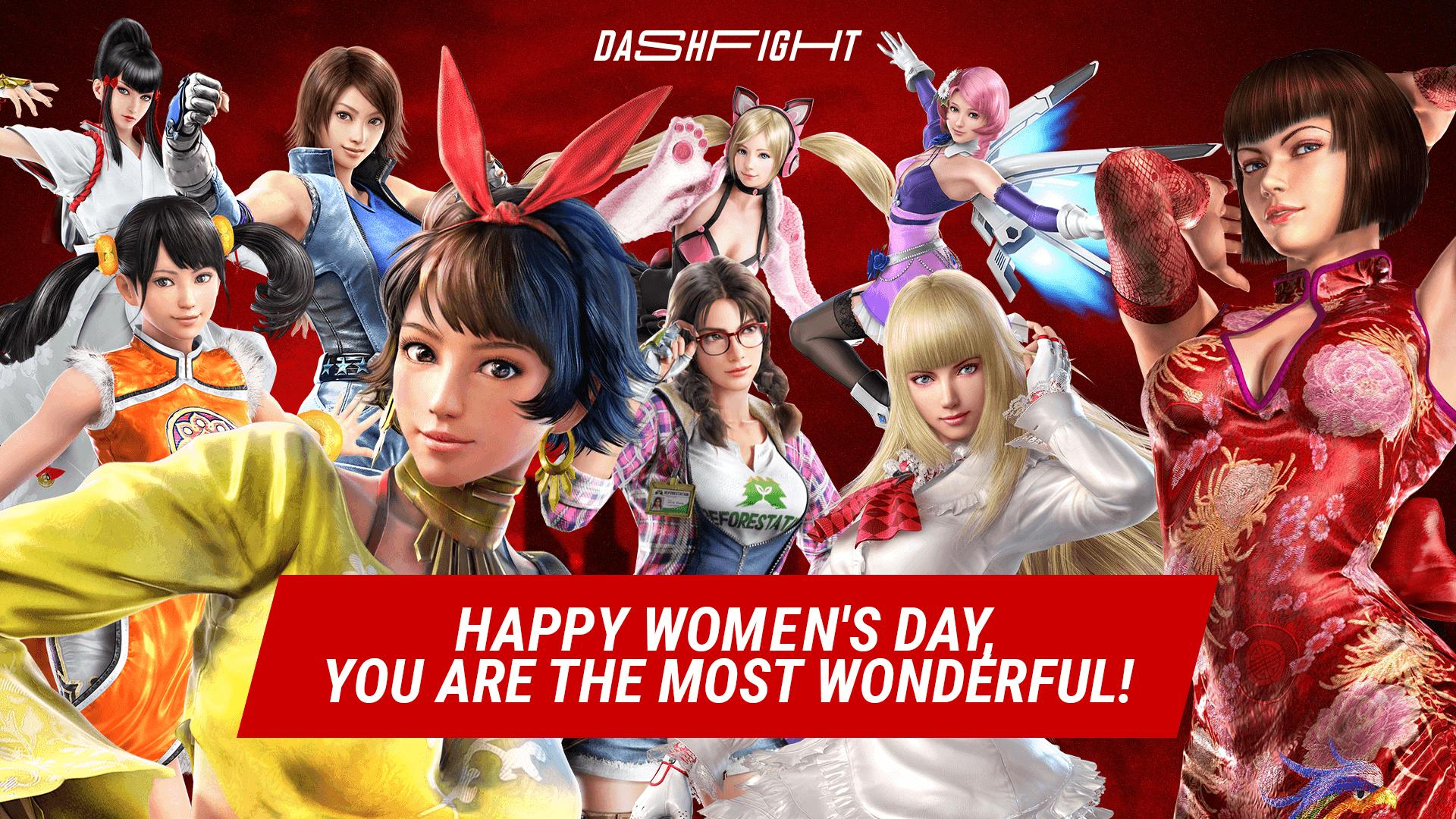Happy Women's Day, Tekken-keepers