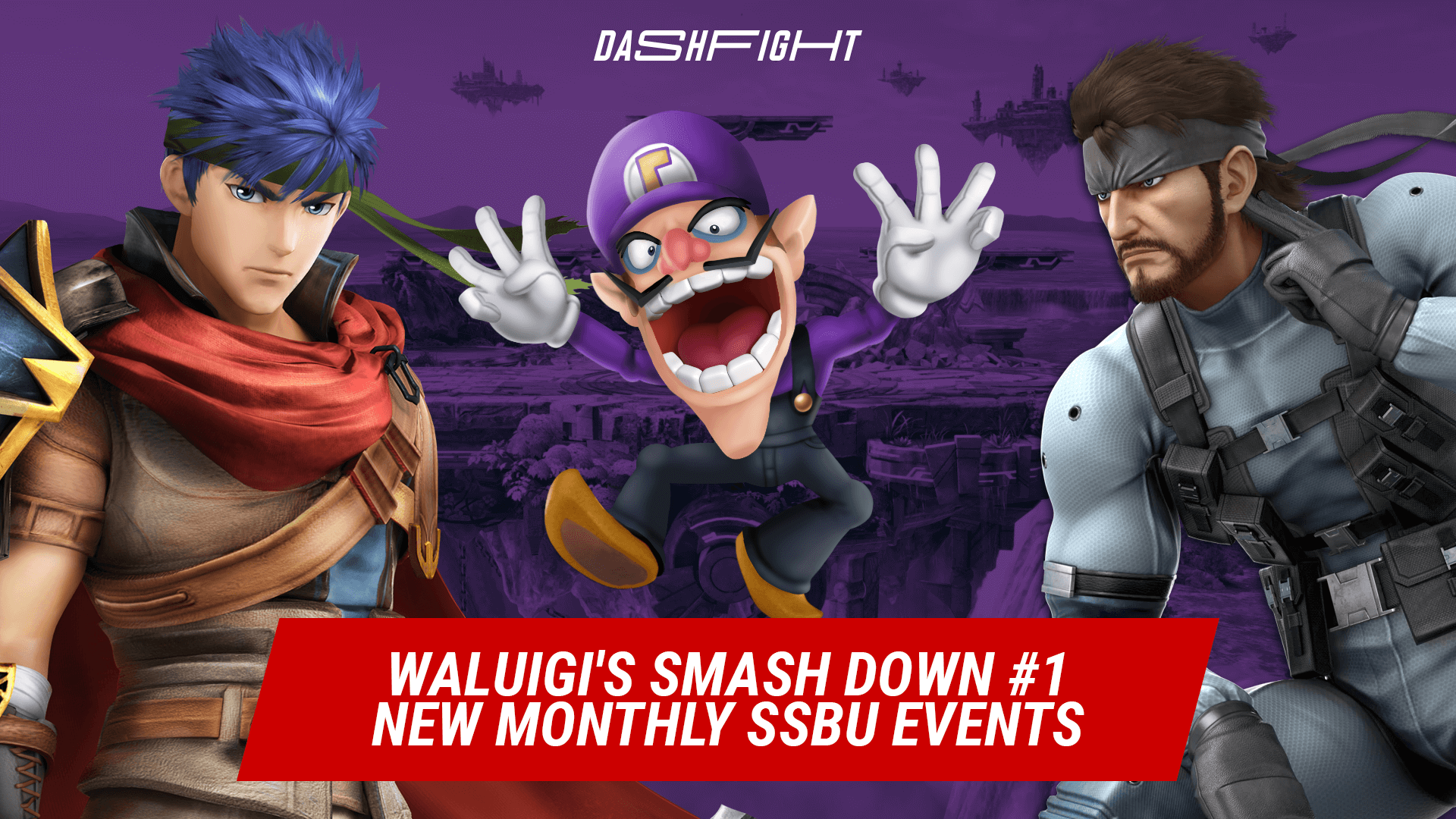 Waluigi's Smash Down #1 - Start of Monthly SSBU Events