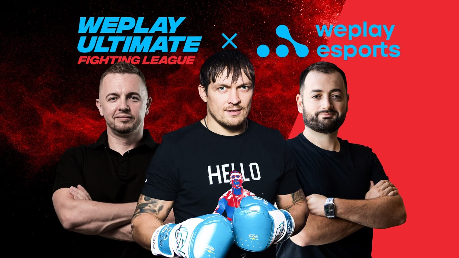 Oleksandr Usyk & WePlay Esports to run a Fighting Games League soon