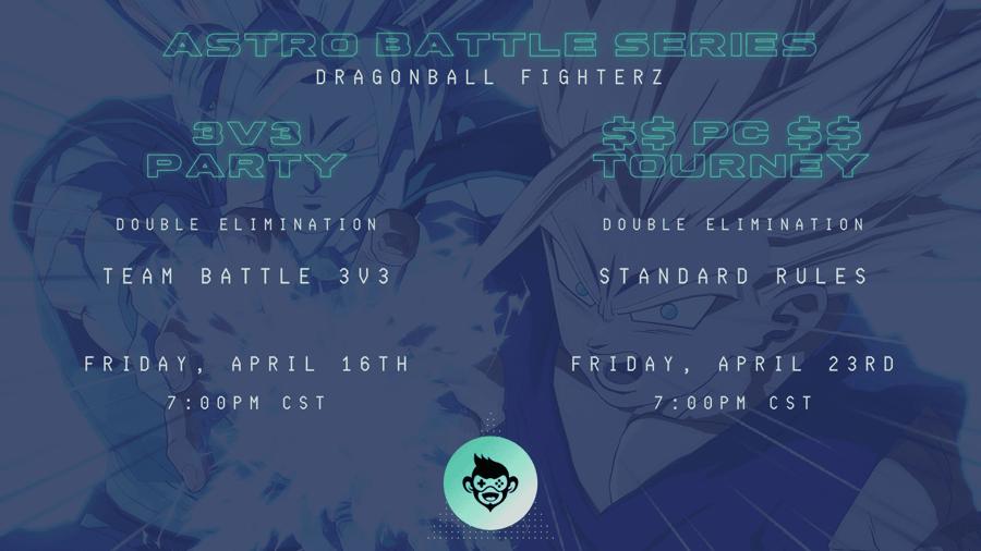 Astro Battle Series: Dragon Ball FighterZ esports tournaments, poster