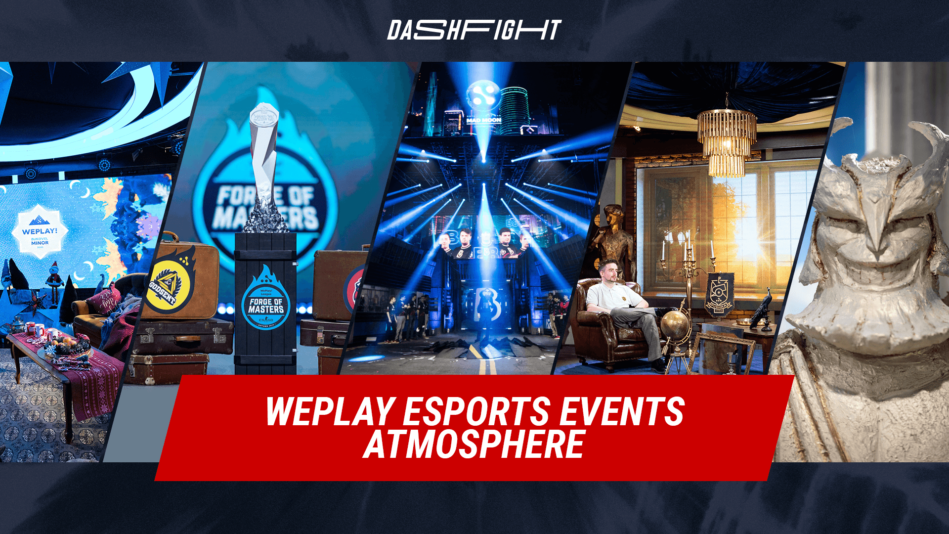 WePlay Esports Events Atmosphere