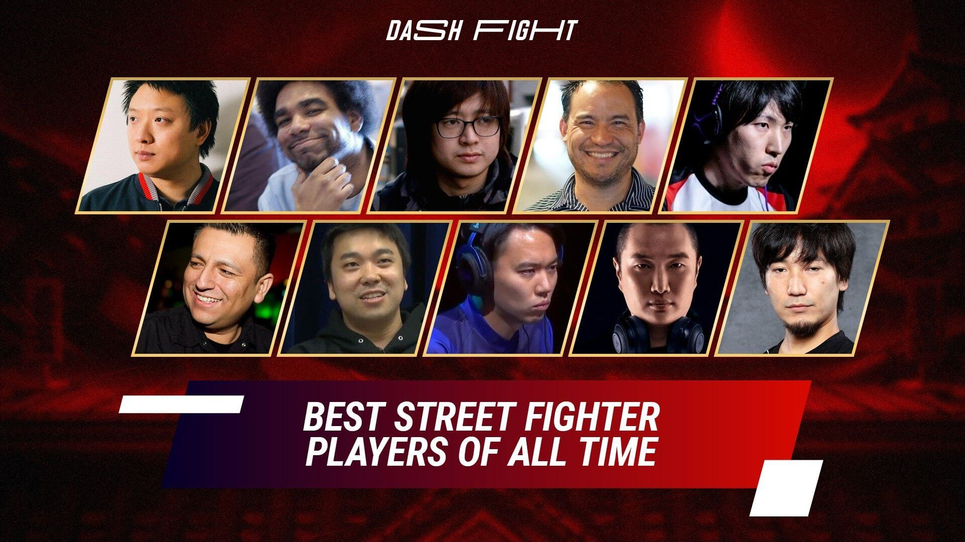Best Street Fighter Players Of All Time