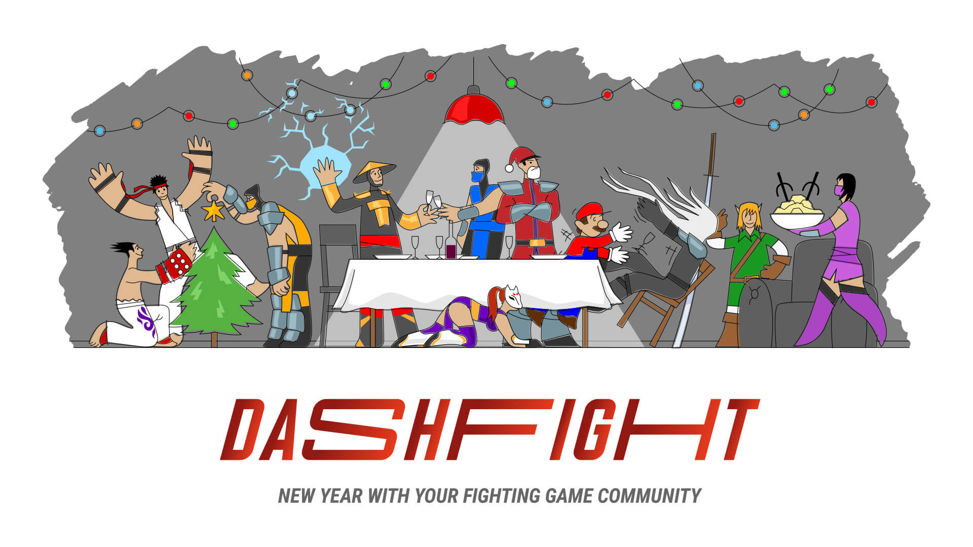 A season's greetings from all of us at DashFight!