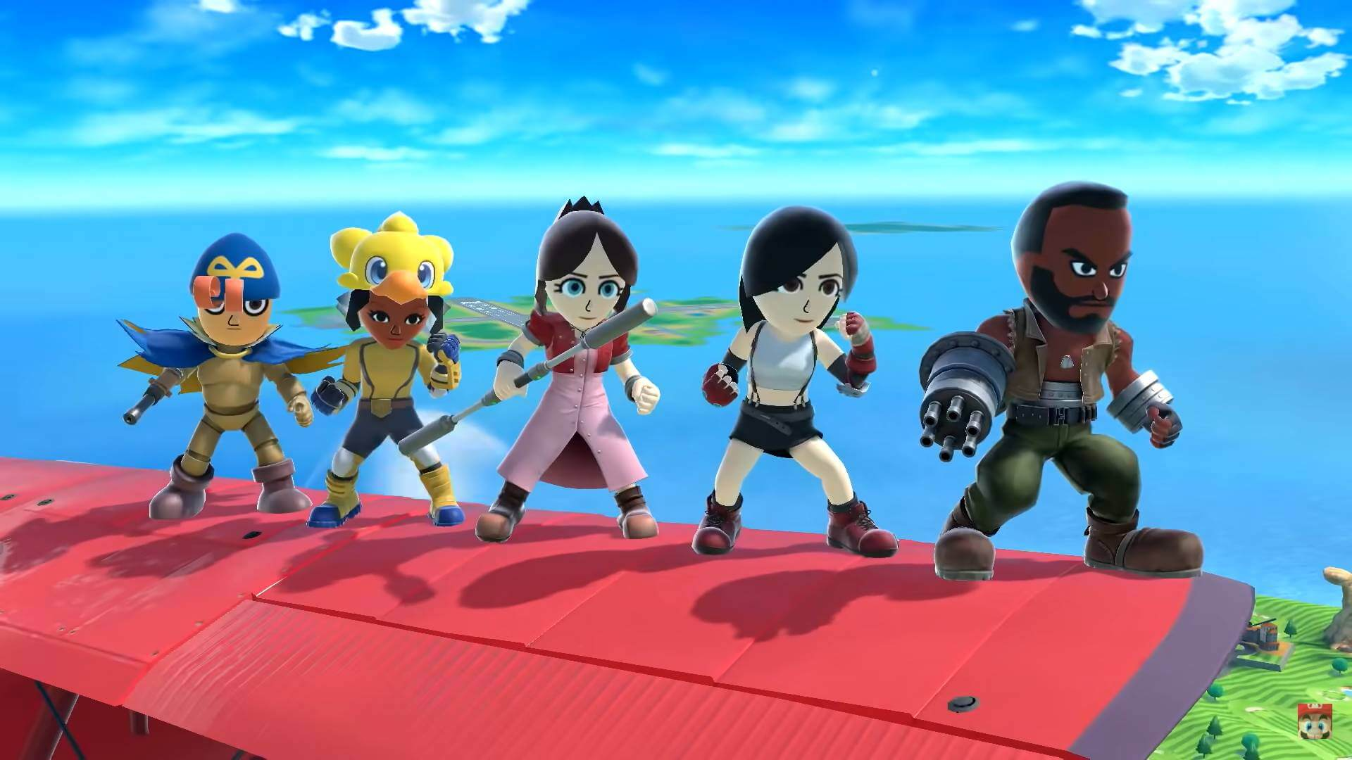 Five New Mii Fighter Costumes in SSBU