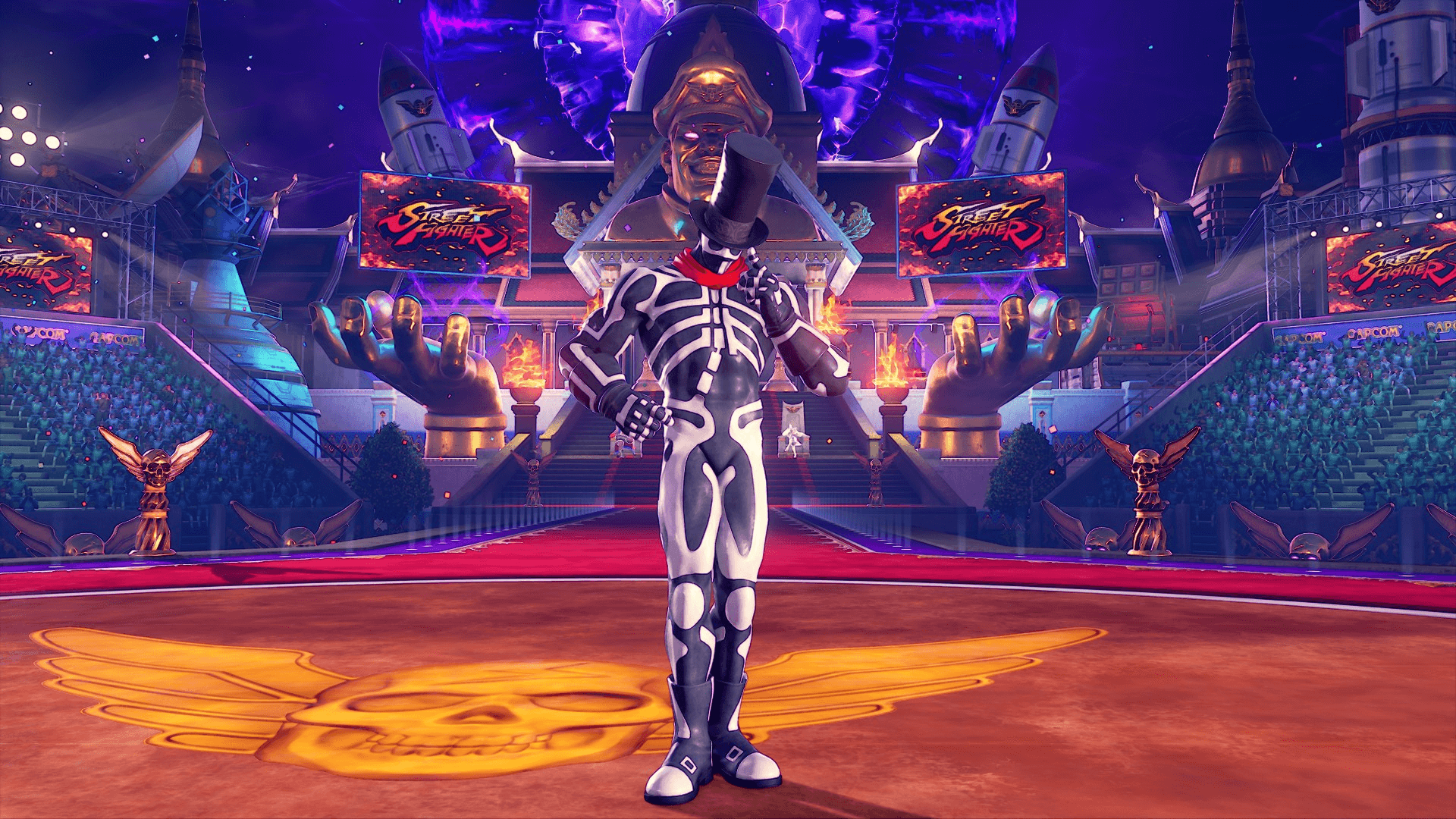 Get Skullomania in Street Fighter V - as a Costume for G