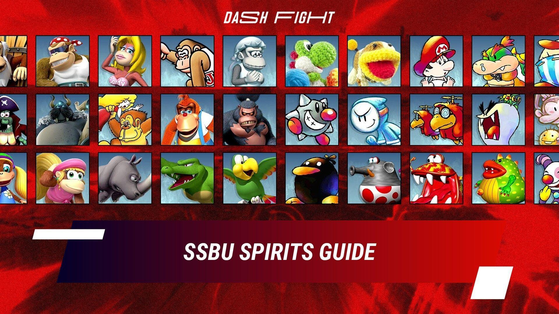 Super Smash Bros. Ultimate Spirits Guide