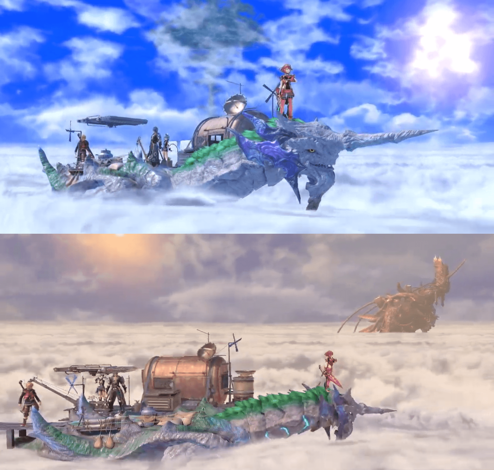 Smash Ultimate stage from Xenoblade Chronicles - Cloud See of Alrest