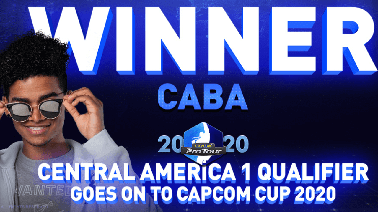 Caba wins Central America 1 Capcom Pro Tour