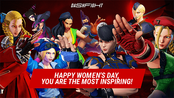 Happy Women's Day, beauties of Street Fighter