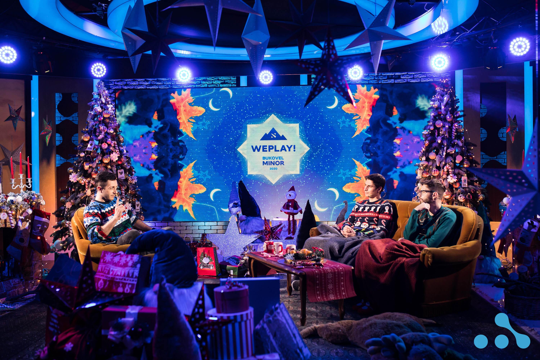 WePlay! Bukovel Minor 2020 studio