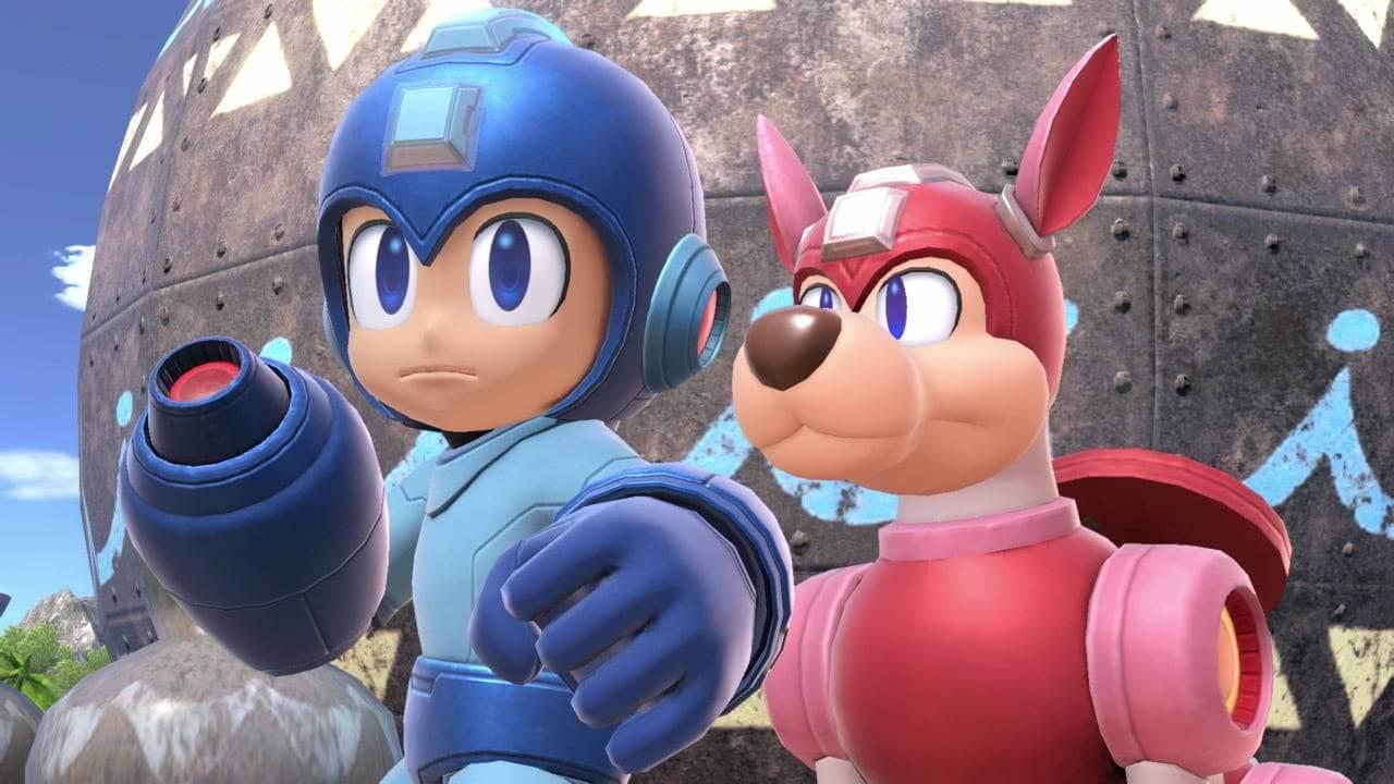 Mega Man dog
