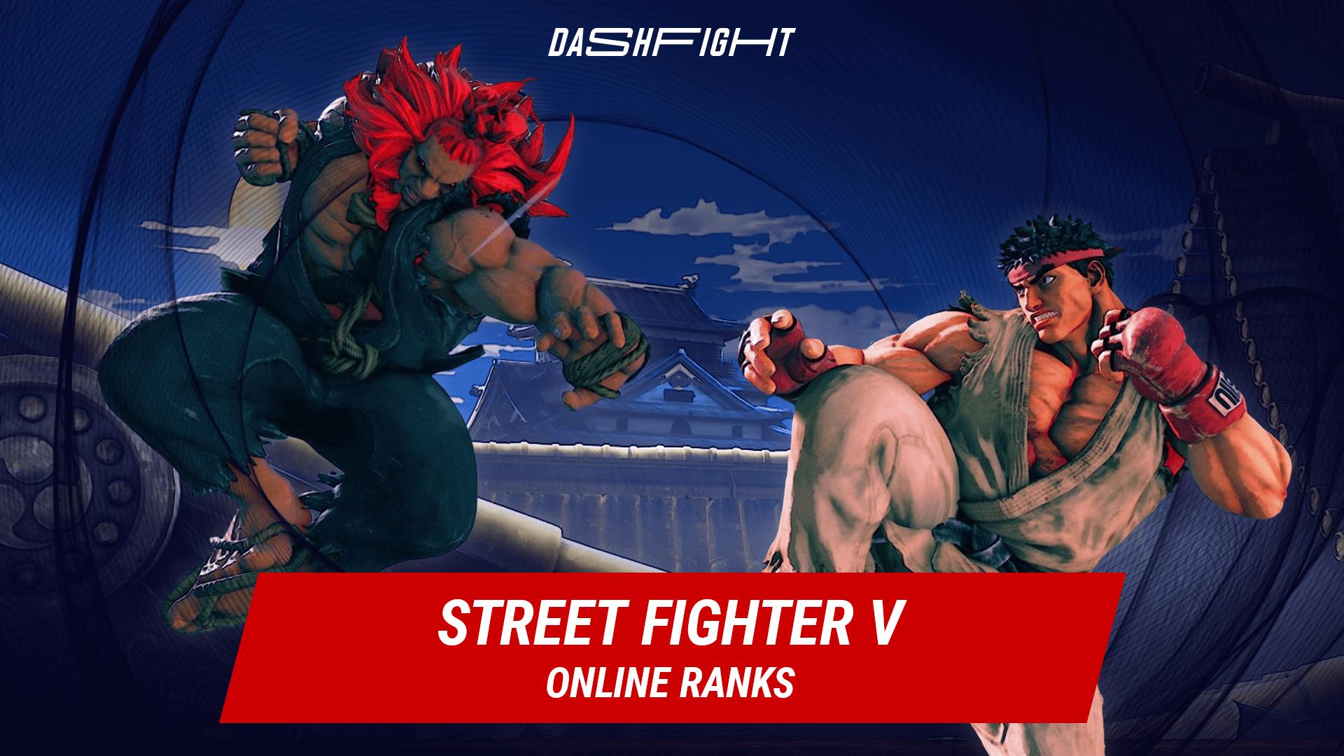 Street Fighter V online ranks