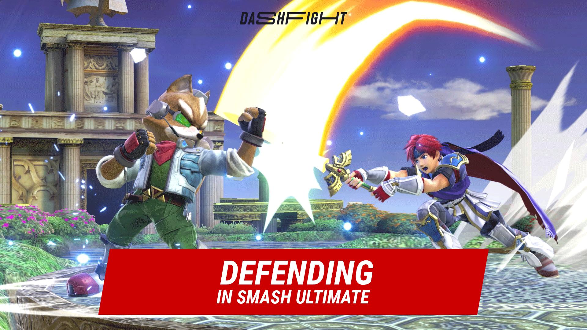 Super Smash Bros Ultimate: Defense Gameplay Guide