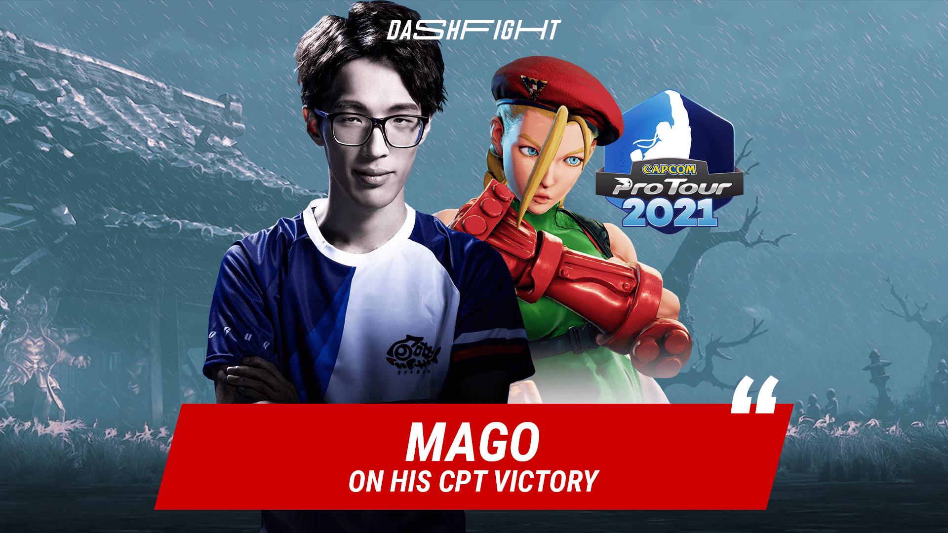 DashFight Interview: Mago, the Winner of CPT 2021 Japan 1