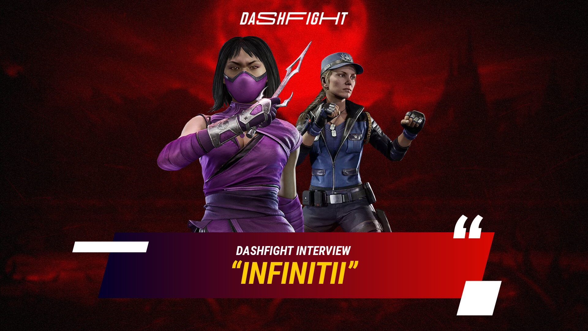 Infinitii: On Cosplay, FGC Closeness, and MK11