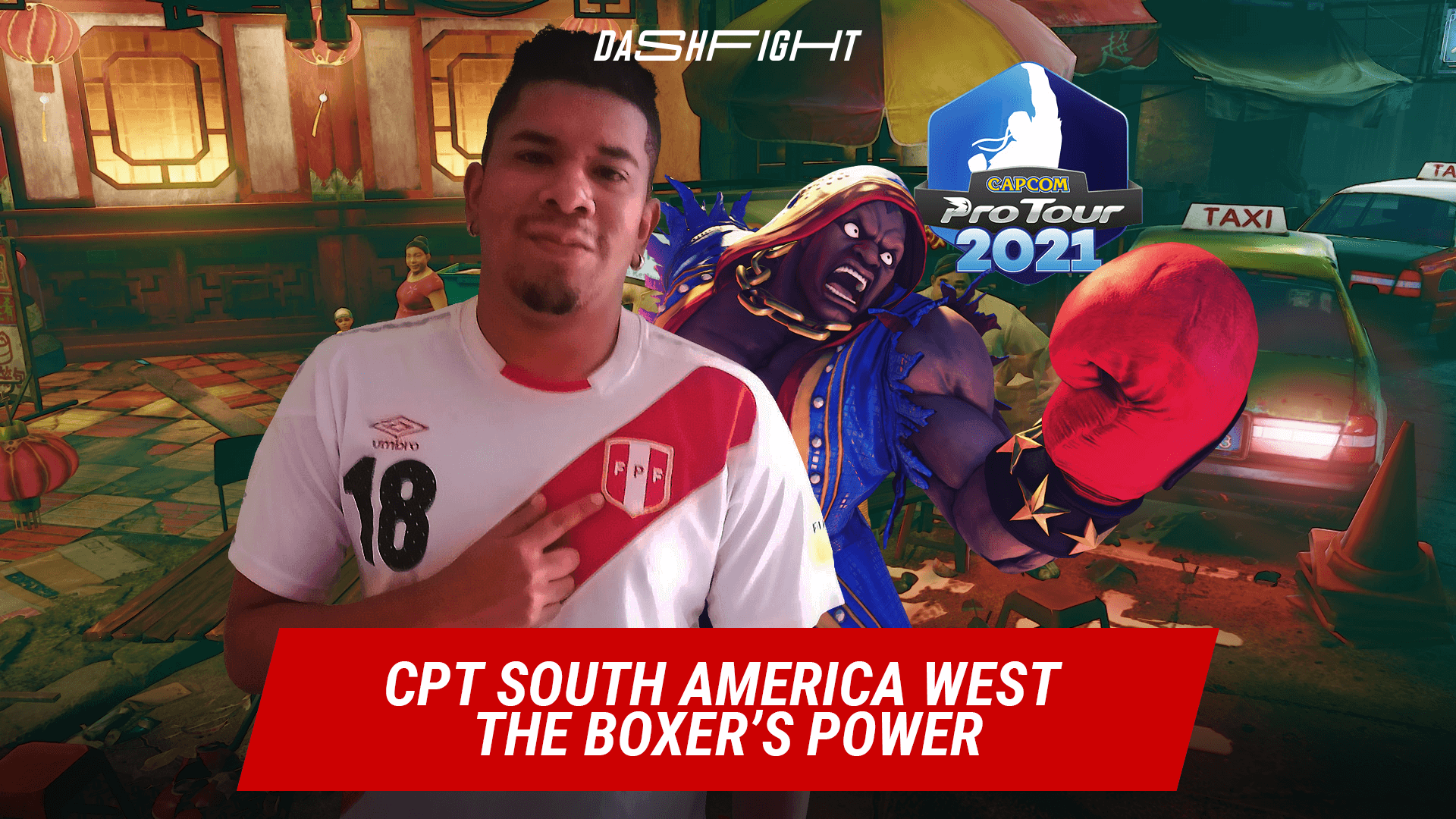 CPT South America West 1: The Boxer's Power