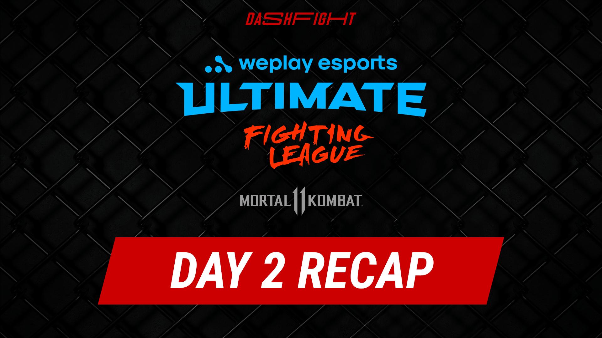 WUFL MK11 DAY 2 RECAP