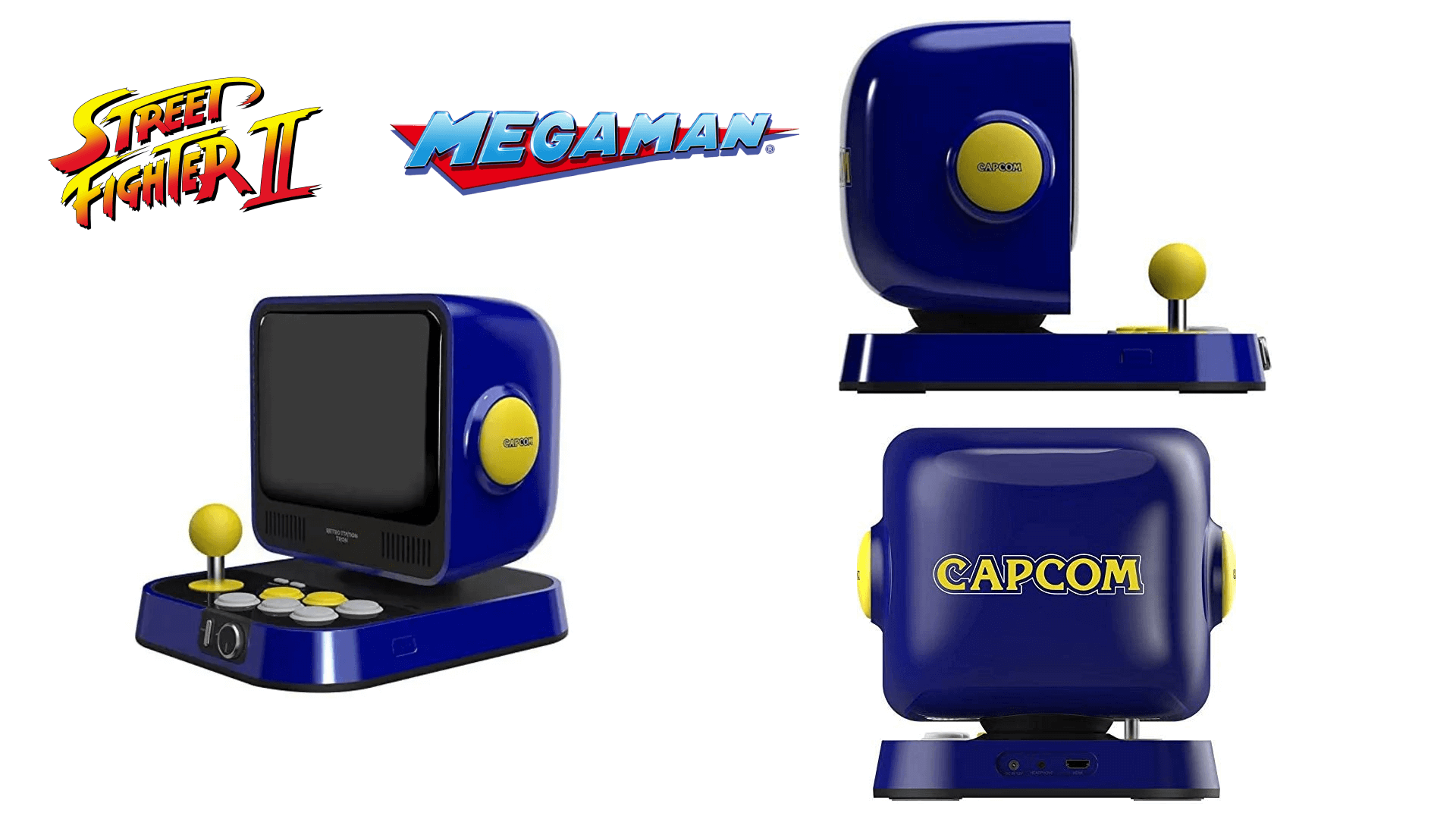 Capcom's Retro Station - a New Device to Play Street Fighter II