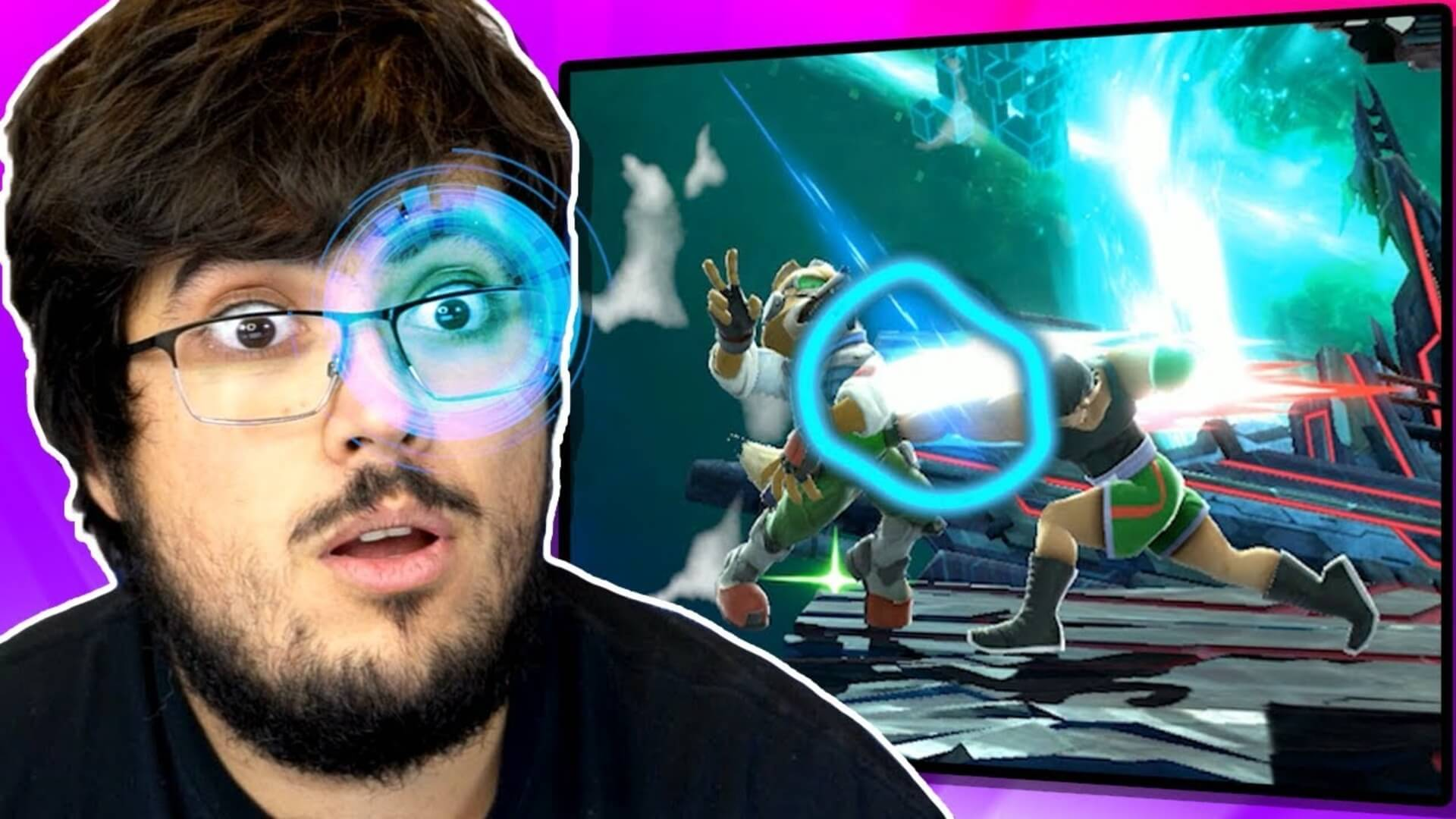 ZeRo uses eye tracker to breakdown Super Smash Bros. Ultimate
