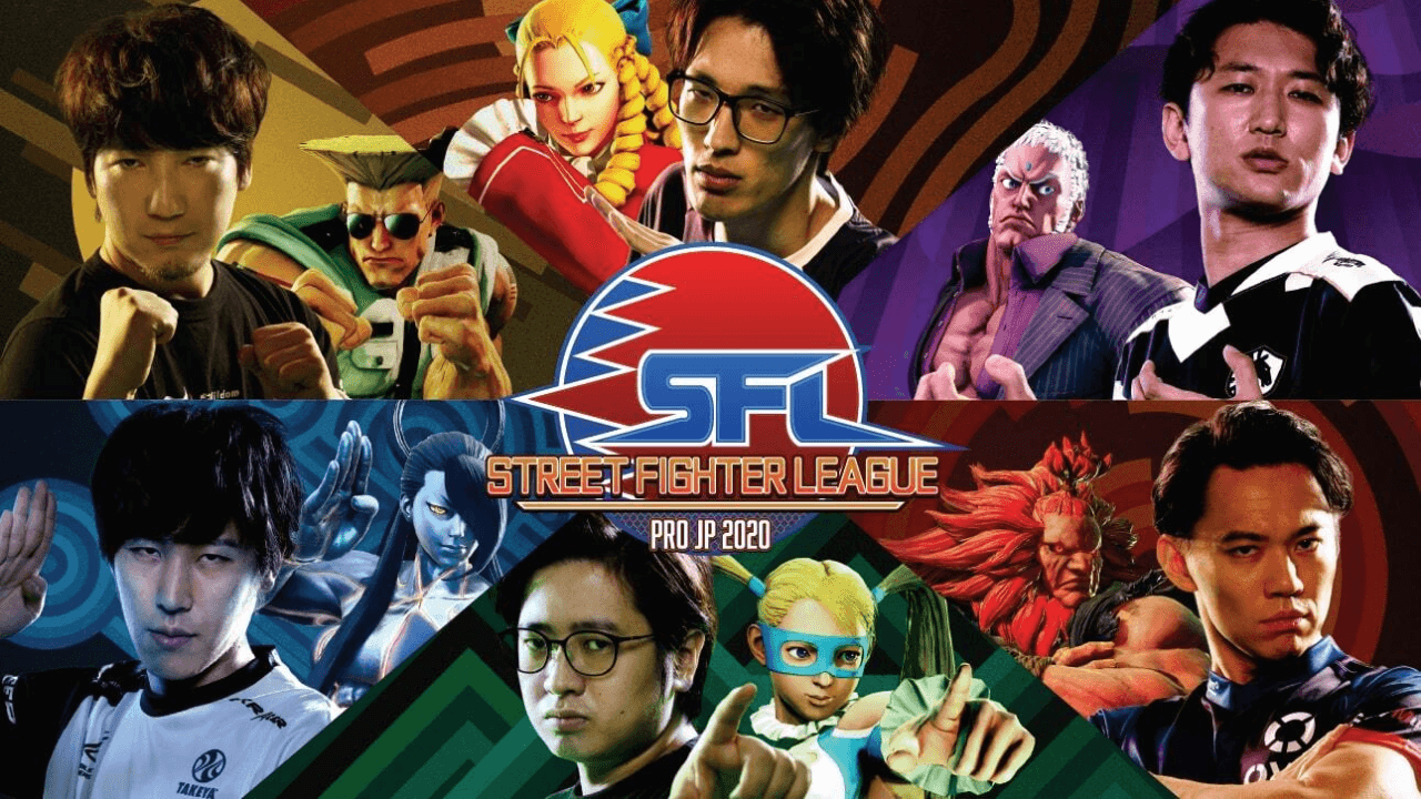 Fuudo Gaia and Tokido Flame are SF League Pro JP 2020 Leaders