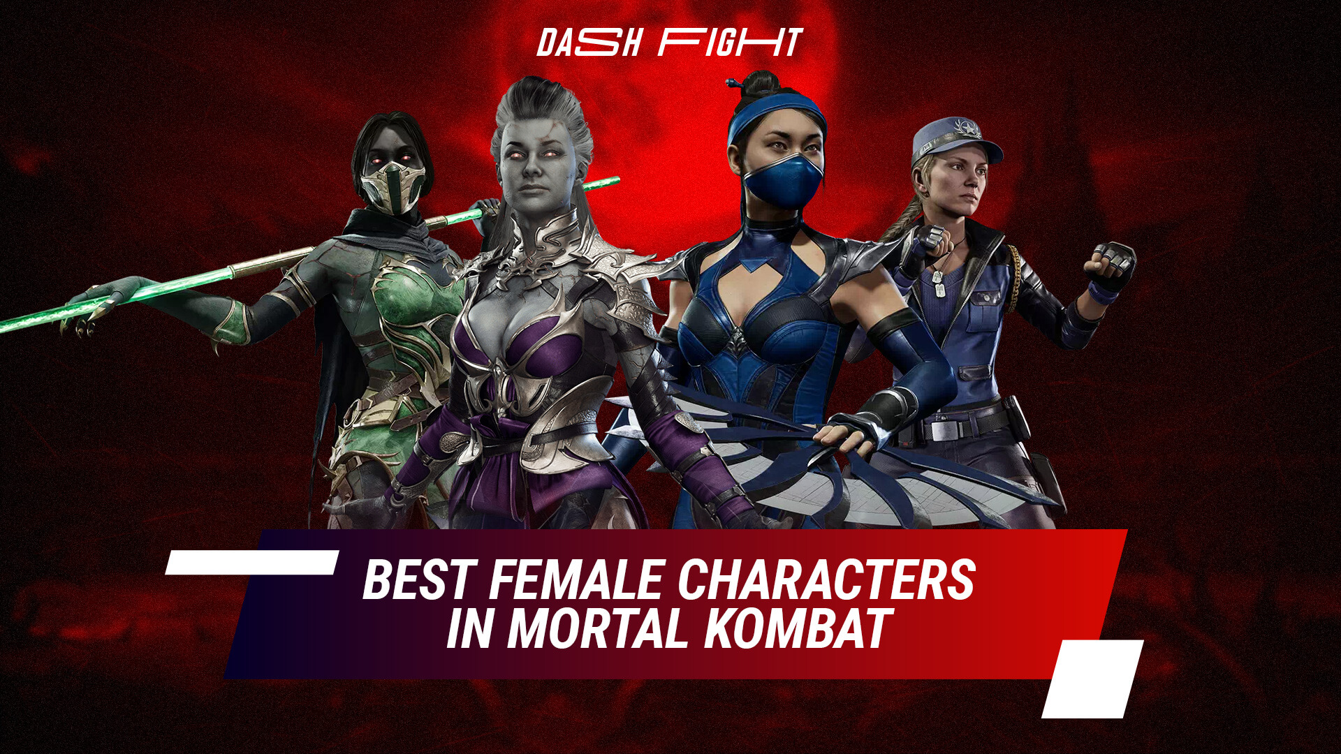 Best Female Characters in Mortal Kombat