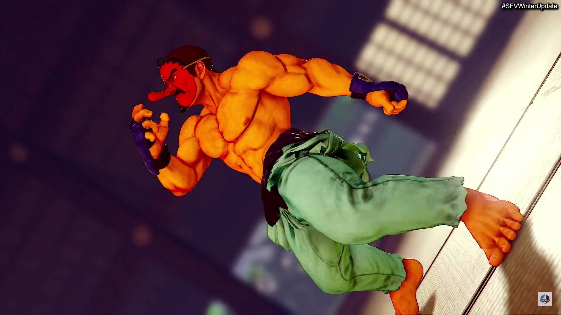 Street Fighter 5 Winter Update - battle costume of Dan Hibiki