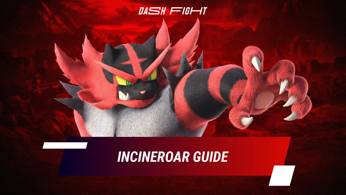 Smash Ultimate: Incineroar Guide - Combos, Moves and How to Play