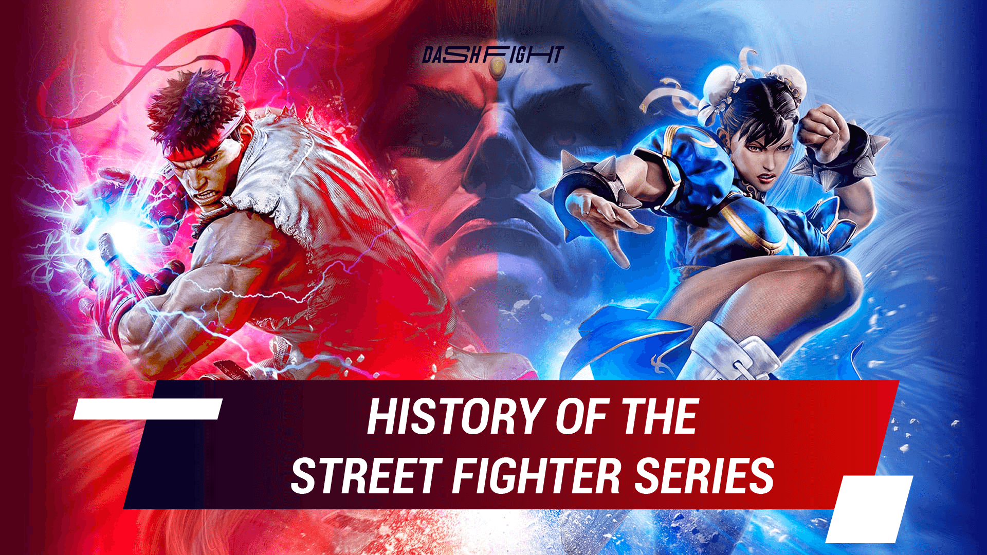 Evolution of Street Fighter: Core Games