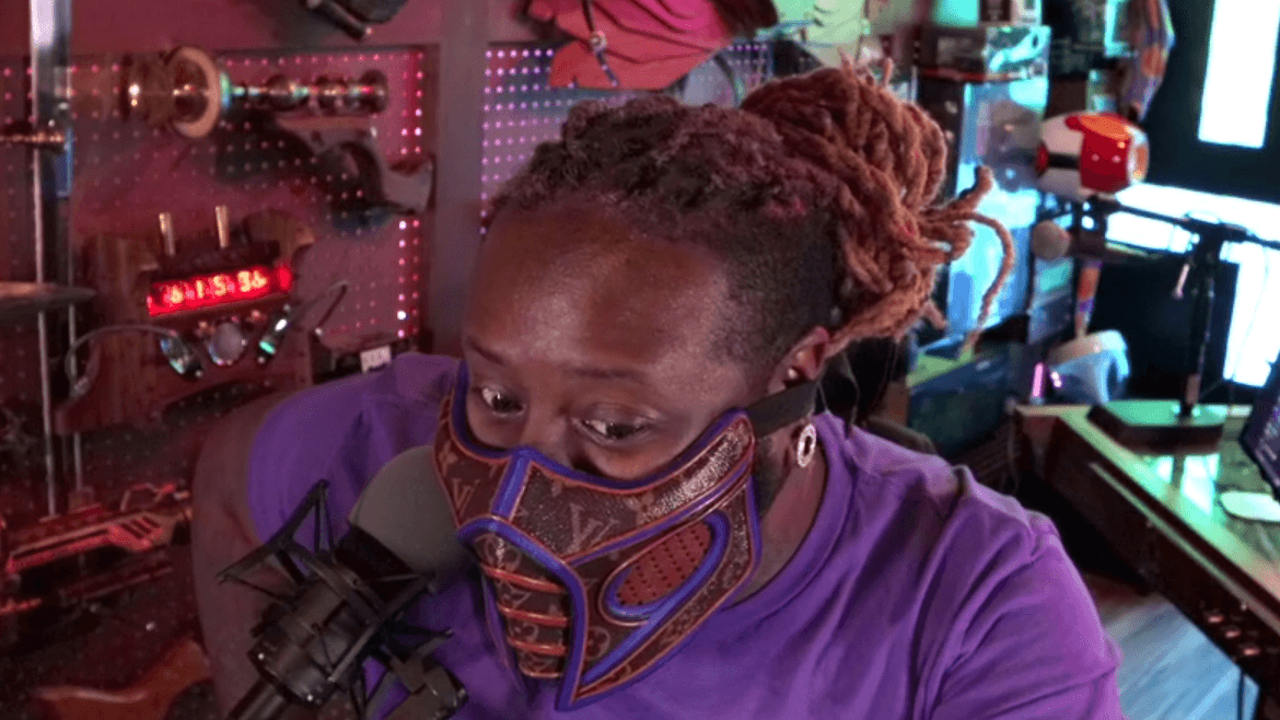 T-Pain Buys a Sub-Zero replica mask made by Louis Vuitton