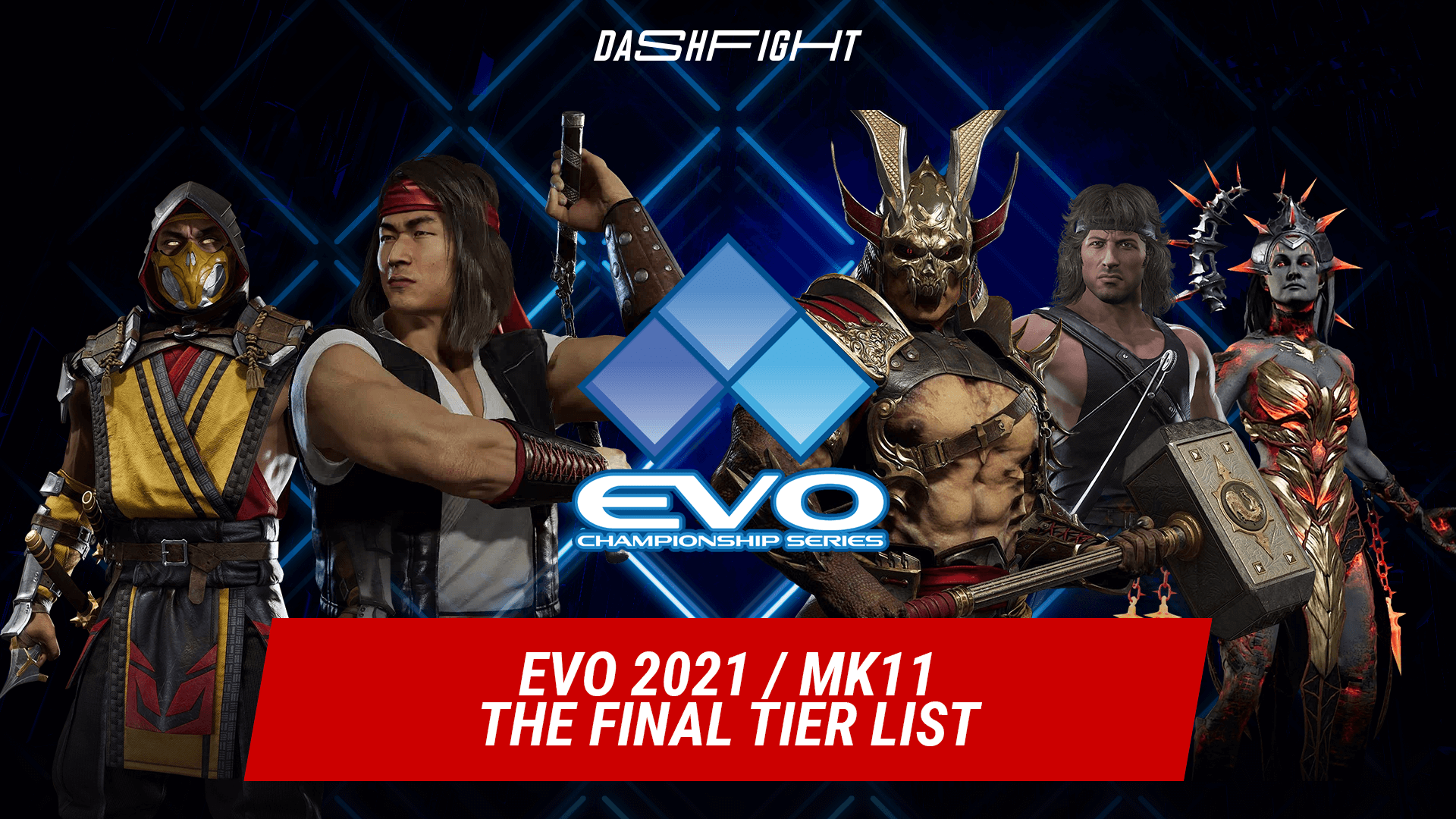 Evo 2021: The Final MK11 Tier List before the FGC's biggest Tournament