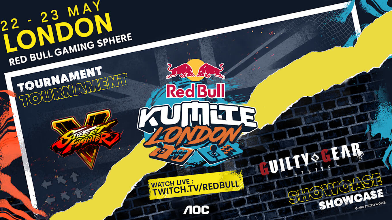 Red Bull Kumite London: Top-Level SFV Invitational is Set for May