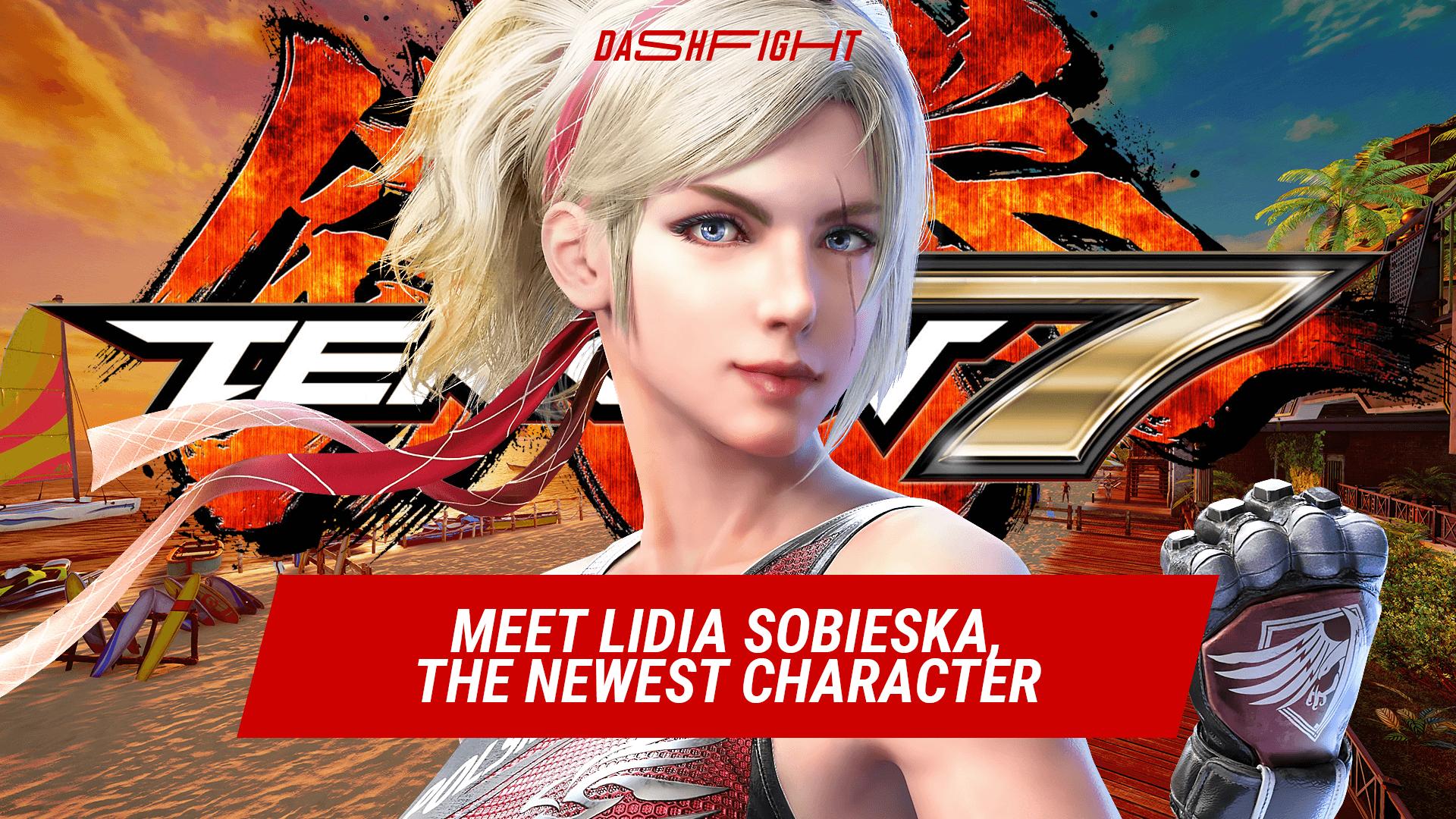 Meet Lidia Sobieska, the Newest Tekken 7 Character