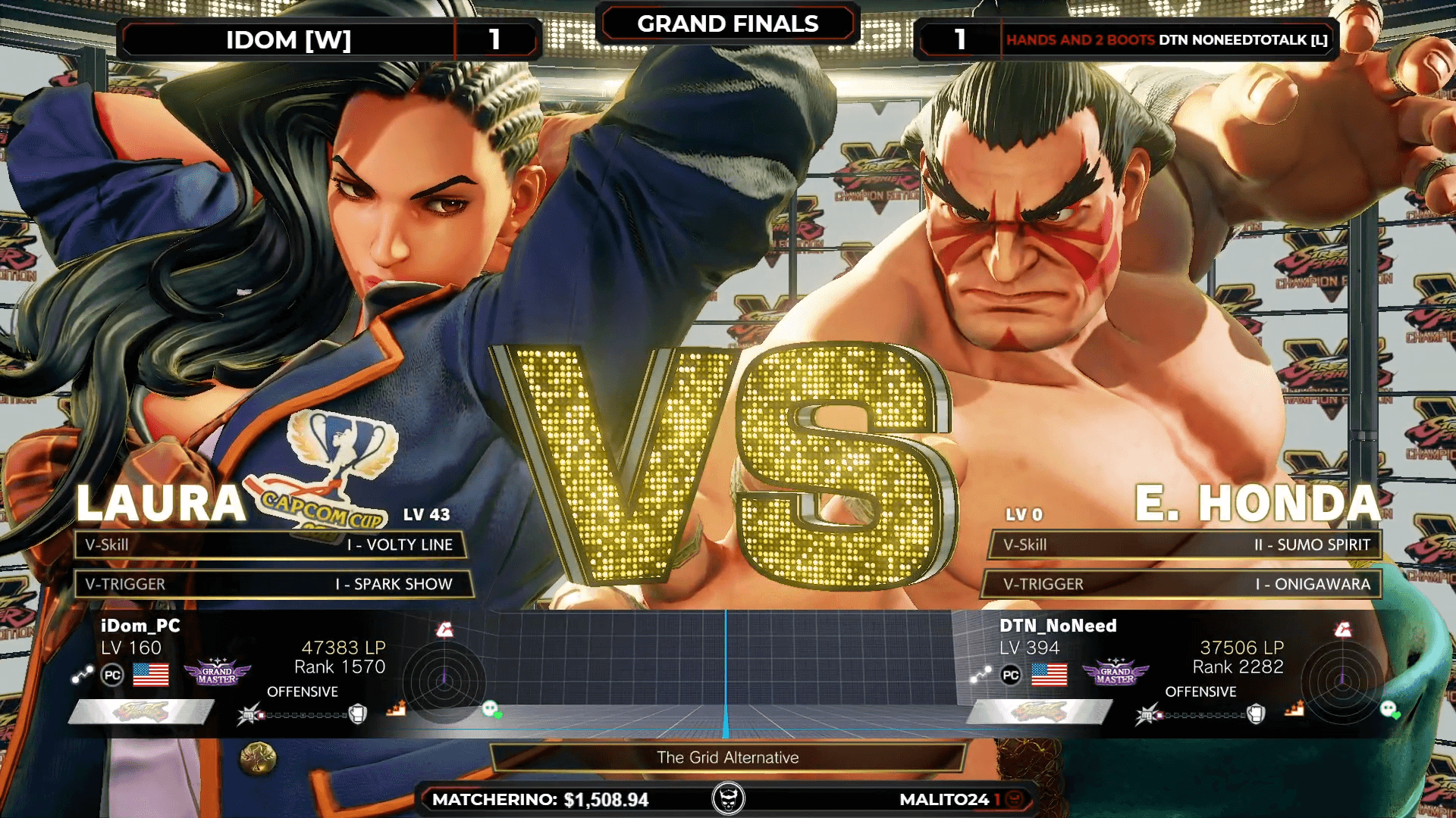 Street Fighter 2v2 Matches at the 1st Anniversary of NLBC Online