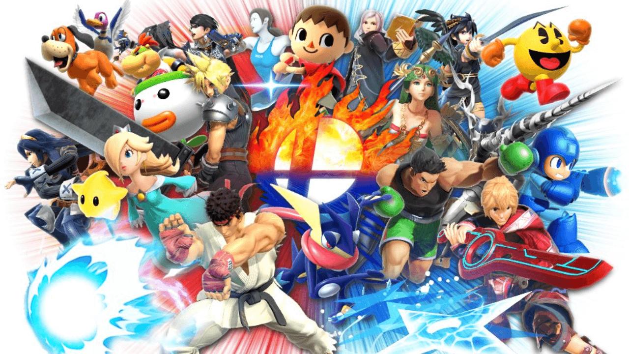 New SSBU Tournament in the Style of Super Smash Bros. 4