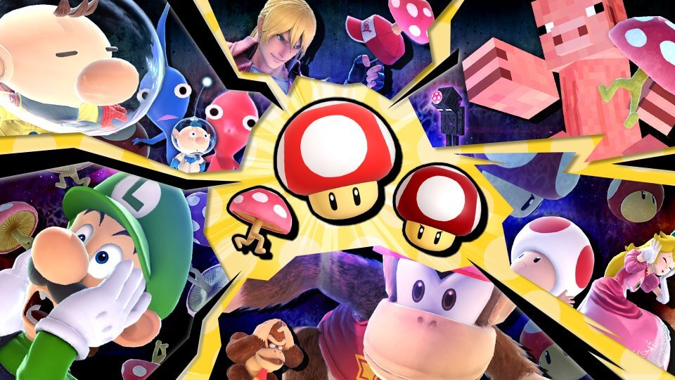Mushroom Tournament is Coming to Smash