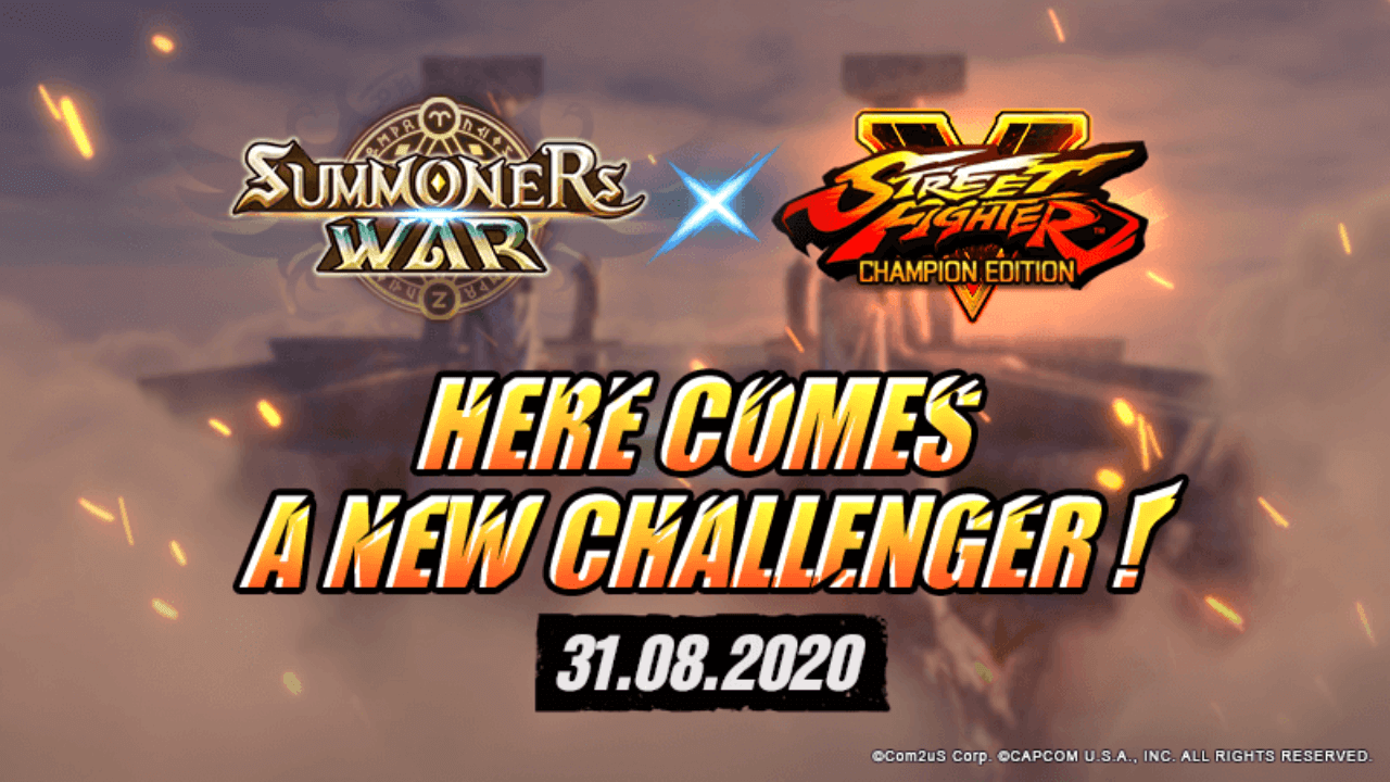 Street Fighter V Characters are Coming to Summoners War