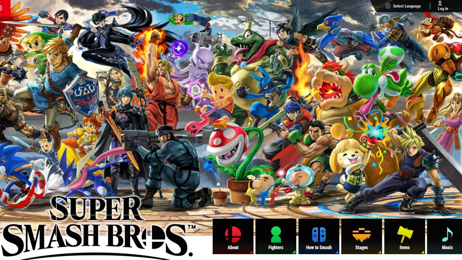 Fresh Hint on a new Fighter in Super Smash Bros. Ultimate