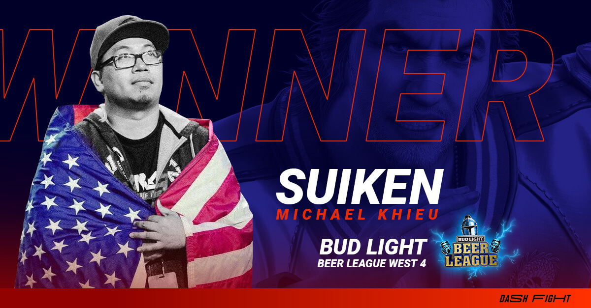 Suiken Wins Bud Light Beer League West 4