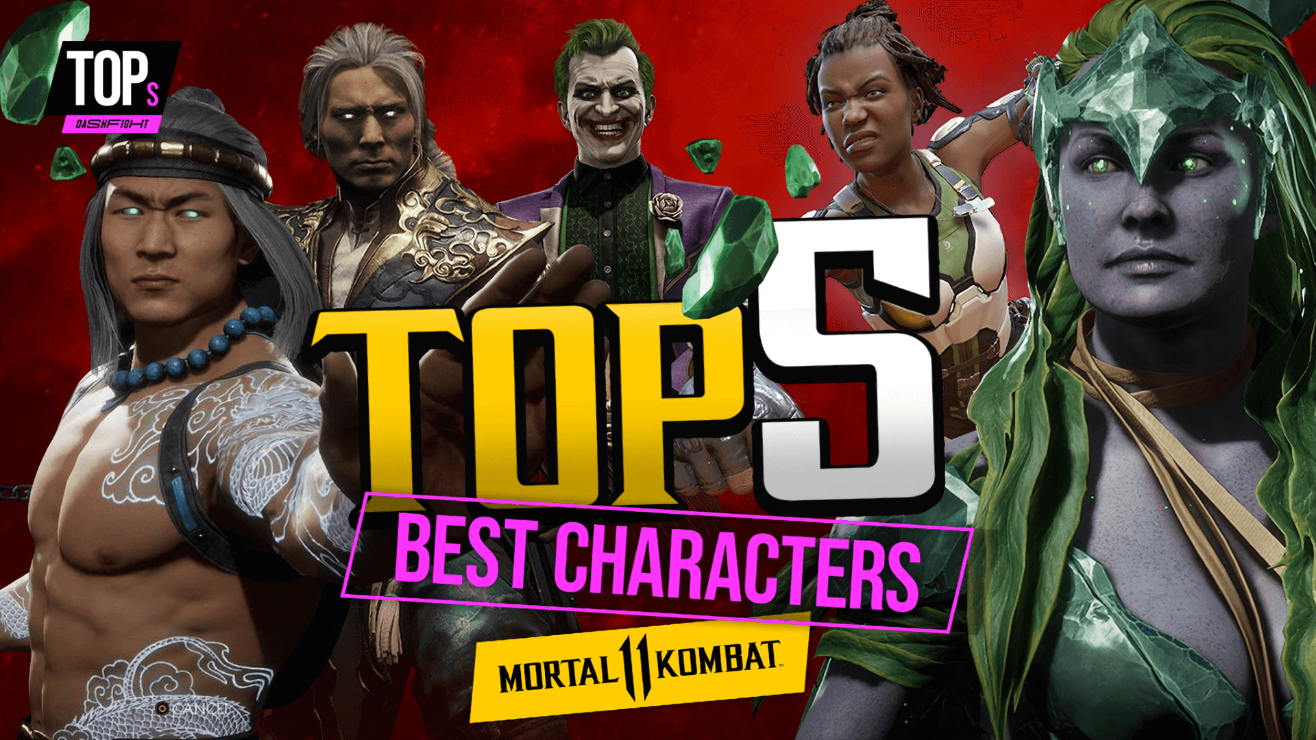 Top 5 Best Characters to Play in MK11