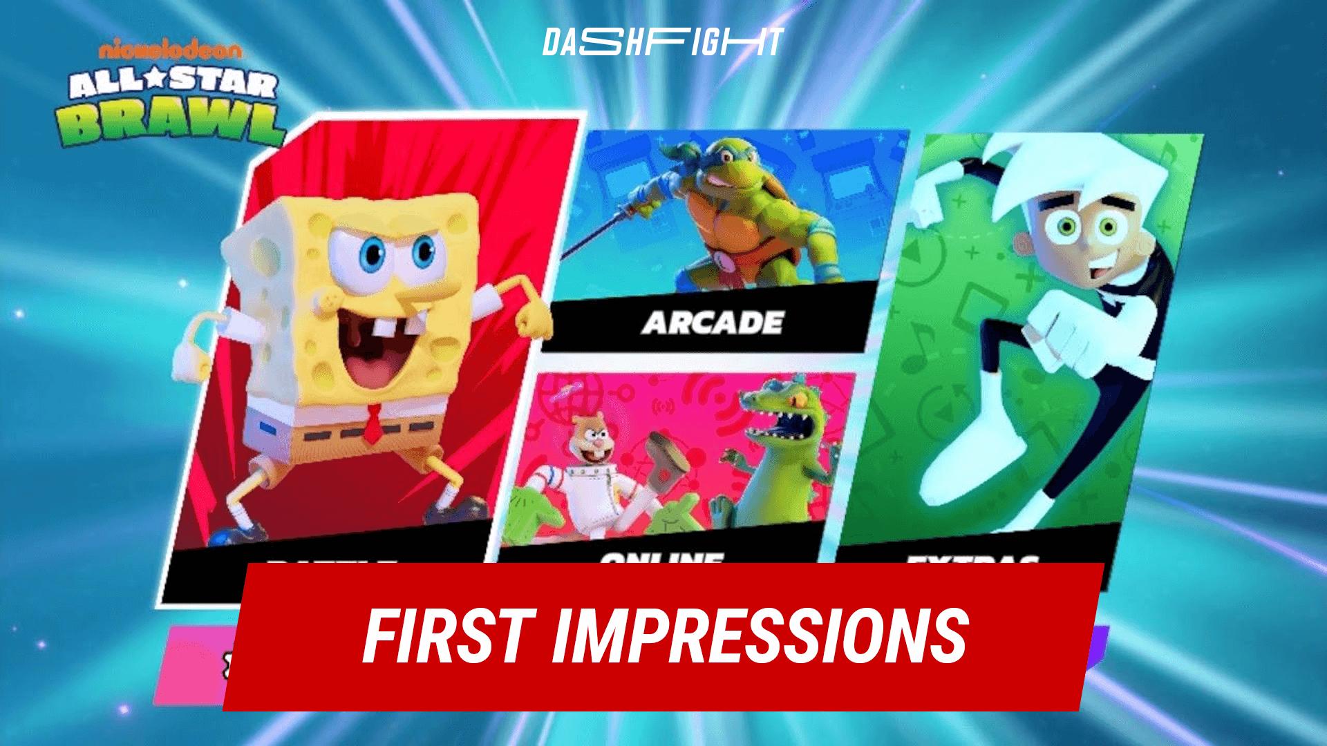 Nickelodeon All-Star Brawl: First Impressions