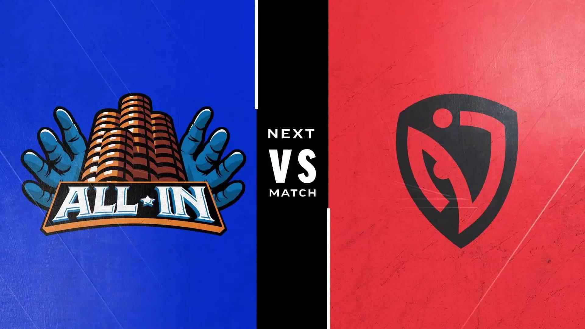 Street Fighter Leaguer Pro-US - All-In vs NASR team logos
