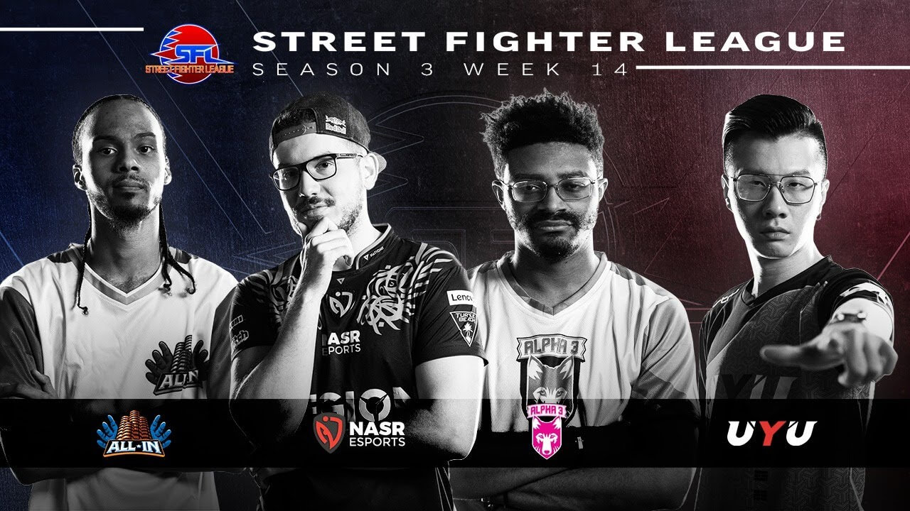 Leaders of Street Fighter League Pro-US get More Victories