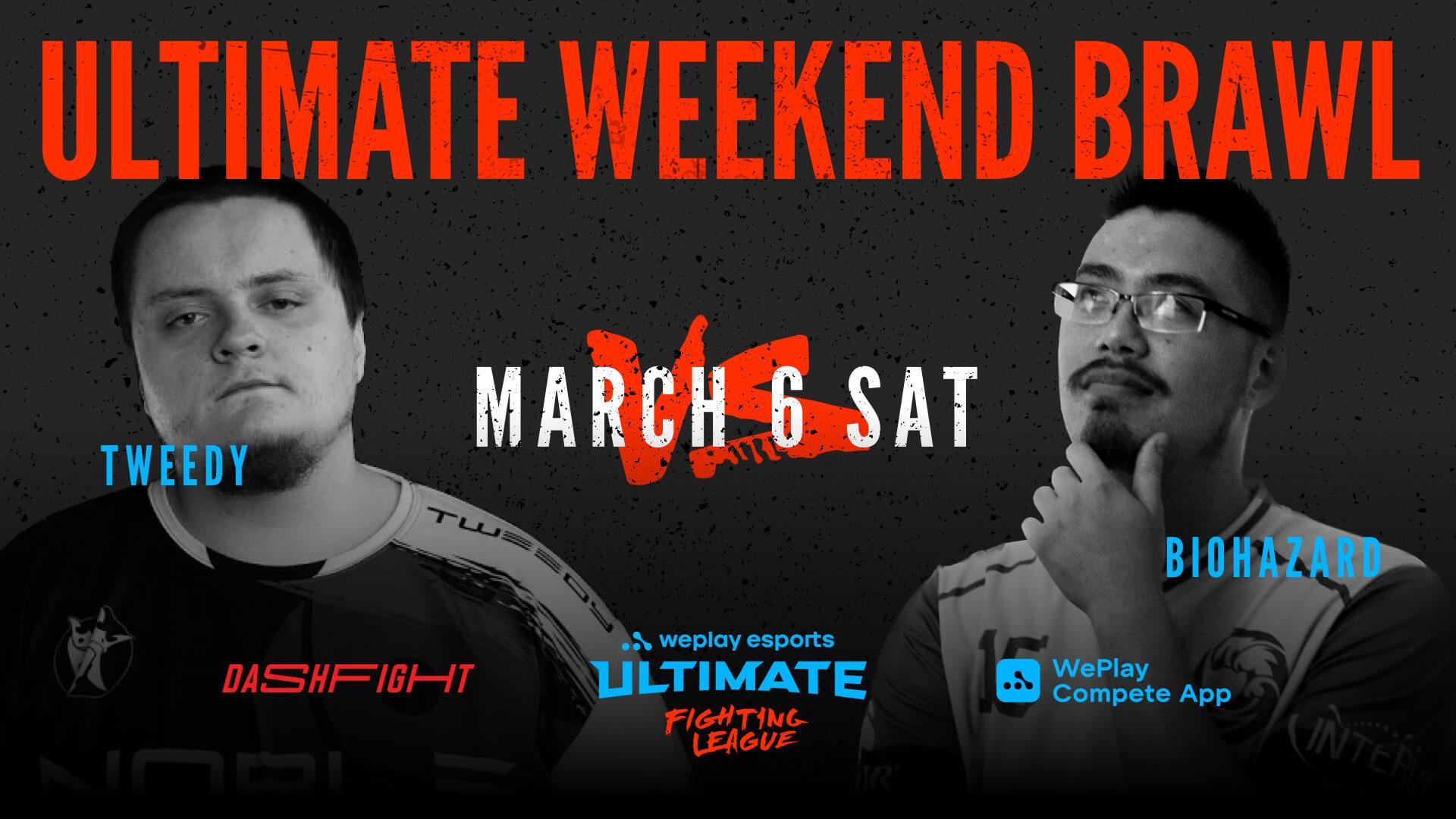 WePlay Ultimate Weekend Brawl: Tweedy vs. Biohazard