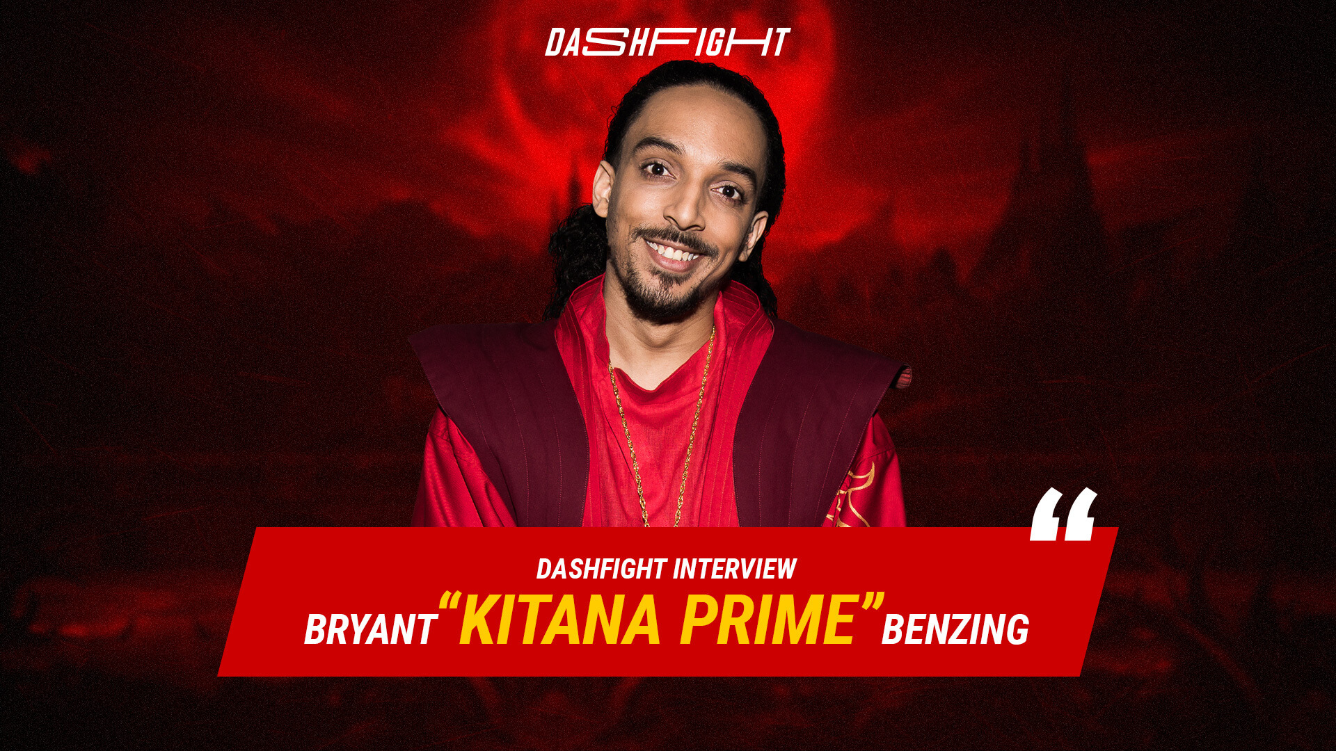 "Interview with Bryant ""Kitana Prime"" Benzing a player, caster, & host"