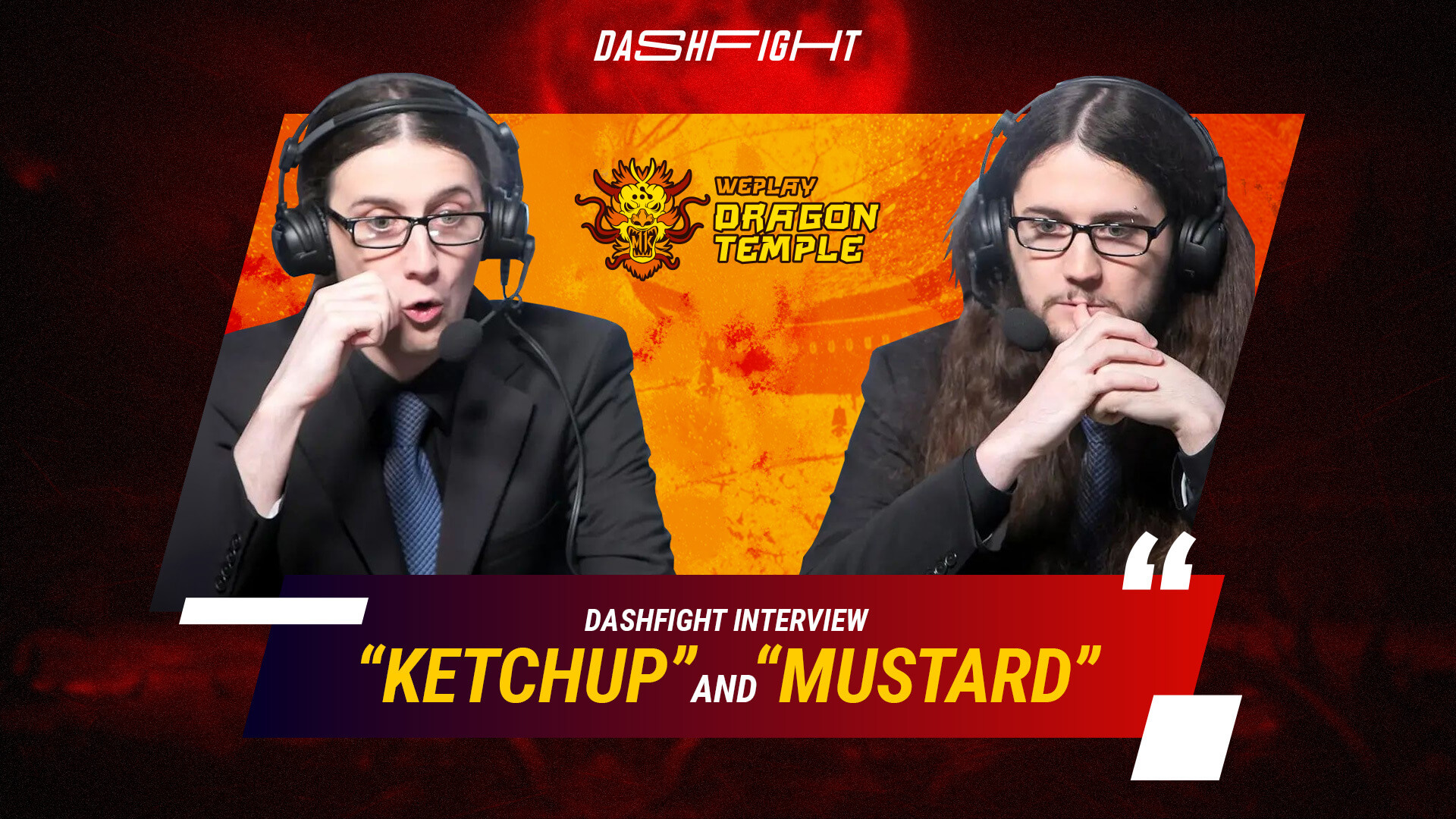 Interview with the MK Legendary Twin Commentators, Ketchup and Mustard