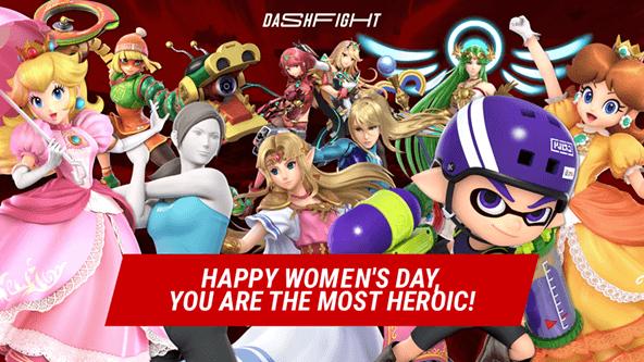 Happy Women's Day, SSBU's brilliants