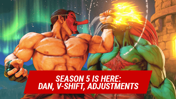 Huge SFV Update: Season 5 Has Started